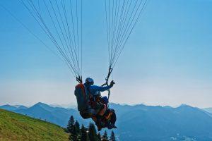 Neue Tandemflugregelung am Brauneck und Blomberg ab dem 1.2.2020